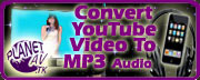 Convert YouTube Videos To MP3 Audios For FREE!
